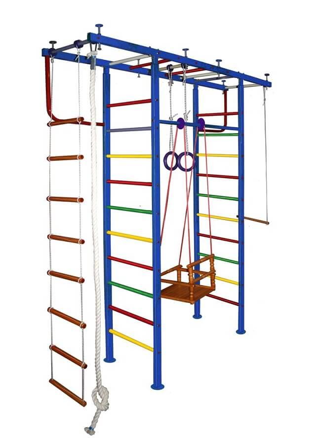Как собрать детский спортивный комплекс