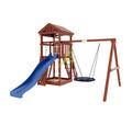 Уличная детская площадка для дачи Панда Фани Nest в категории Детские площадки для дачи из дерева