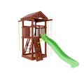Детская игровая площадка Панда Фани Tower скалодром в категории Детские площадки для дачи из дерева