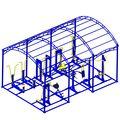Навес для тренажеров 6х4х3.5 в категории Тренажеры