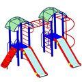 Спортивный городок Мечта в категории  Детские игровые площадки металлические