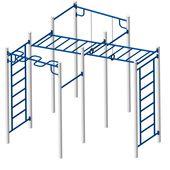 Площадка Workout №3 в категории Оборудование для воркаута: площадки