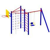 Детская игровая площадка для дачи Вектор металлическая в категории  Детские игровые площадки металлические