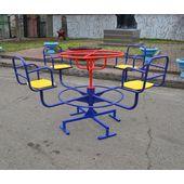 Карусель №3 для детской площадки в категории Детские качели для улицы и дачи