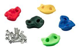 Пластиковые зацепы (камни для скалодрома) в категории Спортинвентарь для дачных и домашних ДСК