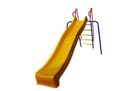 Детская горка Пионер для дачи пластиковая в категории Горки для детской площадки