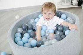Romana Airpool Детский сухой бассейн (серый) в категории Мягкое игровое оборудование