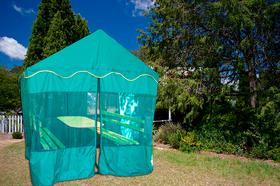 Беседка с шатром в категории Беседки, лавочки, грядки.