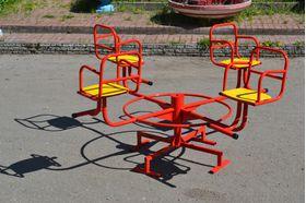 Карусель №2 для детской площадки в категории Детские качели для улицы и дачи