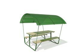 """Стол для дачи """"GREEN GROWER"""" под поликарбонат в категории Беседки, лавочки, грядки."""