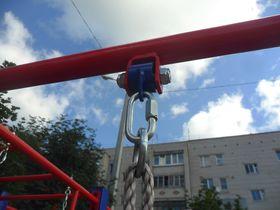 Детский спортивный комплекс металлический Гардемарин в категории  Детские игровые площадки металлические