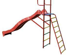 """Наклонная лестница с площадкой для горки к ДСК """"Вертикаль"""" в категории ДСК Вертикаль"""