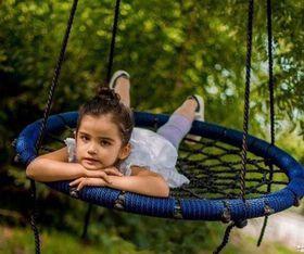 КАЧЕЛИ-ГНЕЗДО BABY-GRAD 80 см в категории Детские качели для улицы и дачи
