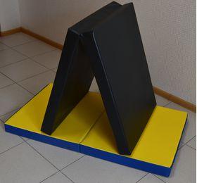 Мат для детского спортивного комплекса 1,6*0,66 складной в категории Маты для спортивного комплекса и шведской стенки