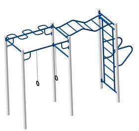 Площадка Workout №4 в категории Оборудование для воркаута: площадки