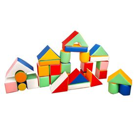 Детский игровой конструктор, 30 элементов в категории Мягкое игровое оборудование