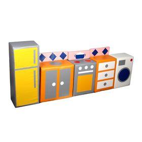 """Набор мягких модулей """"Кухня"""" в категории Мягкое игровое оборудование"""