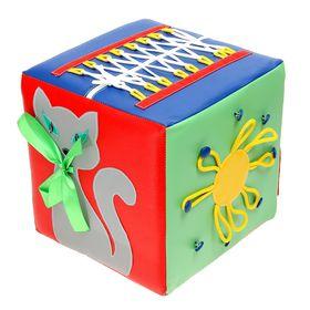 """Кубик развивающий """"Пальчики"""" в категории Мягкое игровое оборудование"""