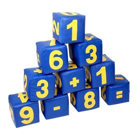 """Набор мягких кубиков """"Цифры"""", 10 шт в категории Мягкое игровое оборудование"""