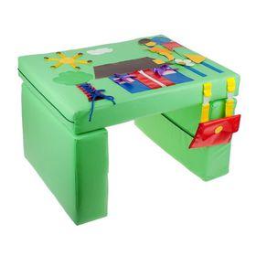 Мягкий модуль «Столик» дидактический в категории Мягкое игровое оборудование