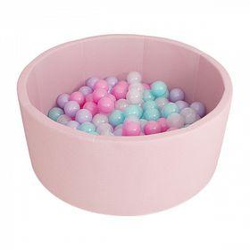 Romana Airpool Детский сухой бассейн (розовый) в категории Мягкое игровое оборудование
