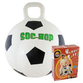 """Мяч-попрыгун с ручкой """"Футбол"""", 50 см. в категории Детские мячи и игрушки прыгуны"""