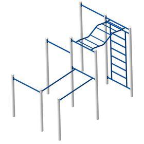 Площадка Workout №2 в категории Оборудование для воркаута: площадки