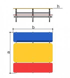 Столик со скамьями детский Romana 302.13.00 в категории Игровое оборудование для детей