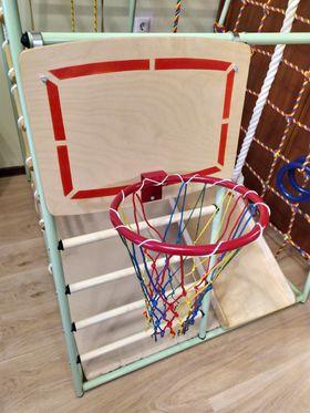 Кольцо баскетбольное со щитом в категории ДСК Вертикаль Веселый малыш