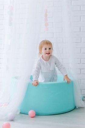 Romana Airpool Детский сухой бассейн (бирюзовый) в категории Мягкое игровое оборудование