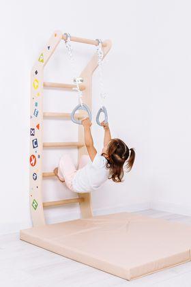 Комплекс «Шведская стенка ROMANA Eco 3 Luna» в категории Домашние спортивные комплексы деревянные